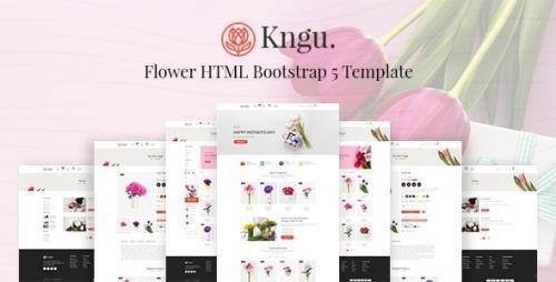 ThemeForest - Kngu v1.0 - Flower HTML Bootstrap 5 Template - 29149992