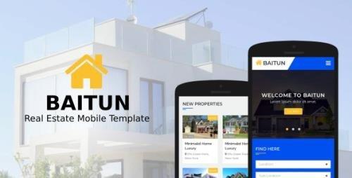 ThemeForest - Baitun v1.0 - Real Estate Mobile Template - 21753462