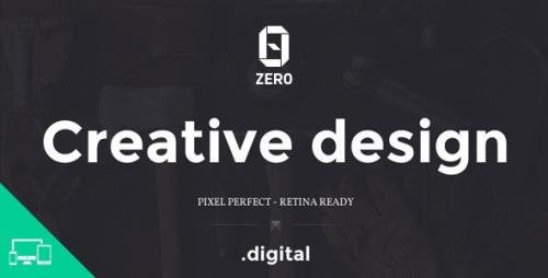 ThemeForest - ZER0 v1.0 - HTML5 Digital Creative Agency Template (Update: 20 December 14) - 9686127