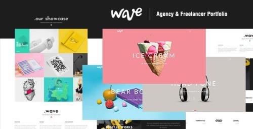 ThemeForest - Wave v1.0 - Agency Freelancer Portfolio (Update: 28 April 16) - 12631755