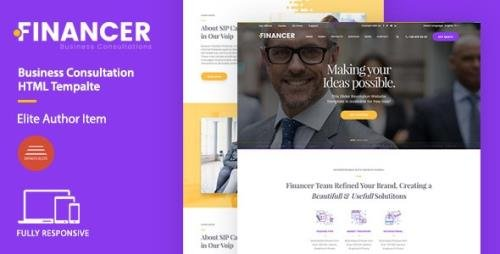 ThemeForest - Financer v1.0 - Business Consultations Template (Update: 29 August 17) - 20430438