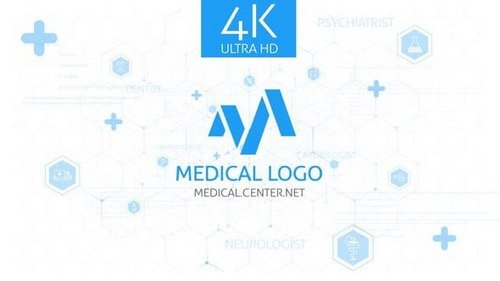 Medical Logo Reveal 24907946 - Project for After Effects (Videohive)