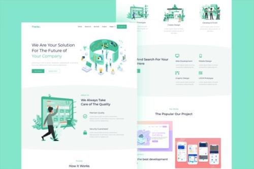 ThemeForest - Tracto v1.0 - Creative Agency Elementor Template Kit - 28908146
