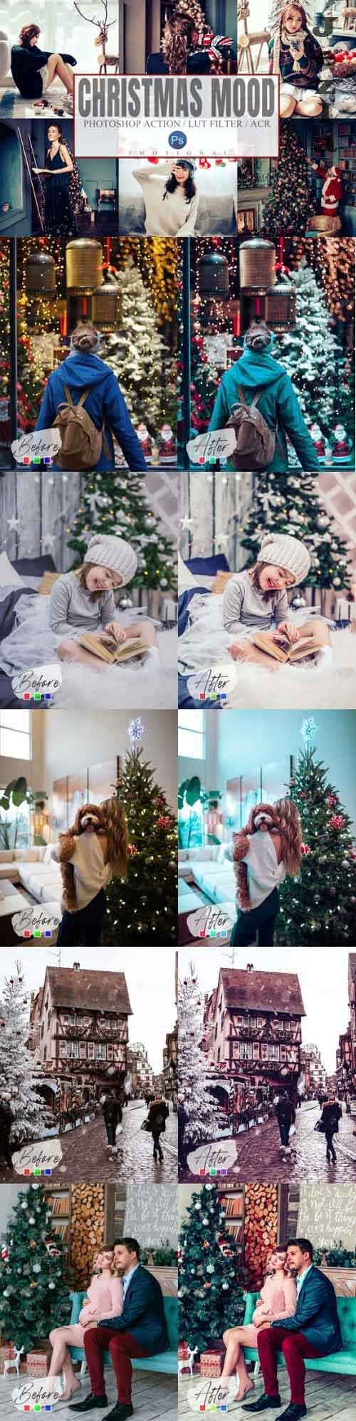 Christmas Mood Photoshop Actions ACR LUT