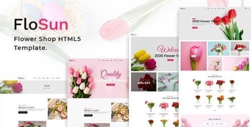 ThemeForest - FloSun v1.0 - Flower Shop HTML5 Template - 29223925