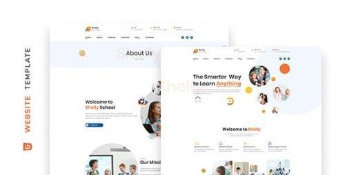 ThemeForest - Shelly v1.0 - School Website Template - 29068717
