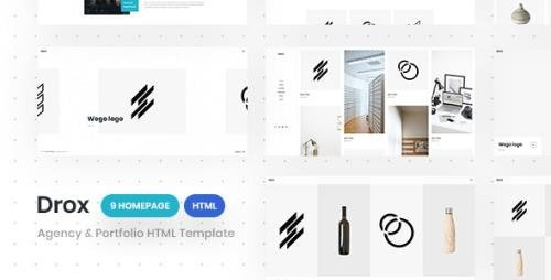 ThemeForest - Drox v1.0 - Agency & Portfolio HTML5 Responsive Template - 25583246