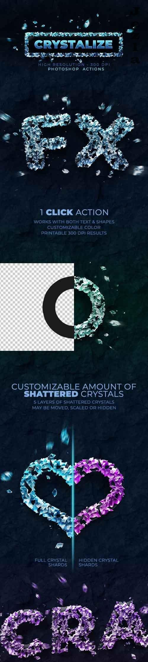 GraphicRiver - Crystalize - Photoshop Action - 300 DPI 28507917