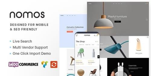 ThemeForest - Nomos v2.4.8 - Modern AJAX Shop Designed For Mobile And SEO Friendly (RTL Supported) - 22334460