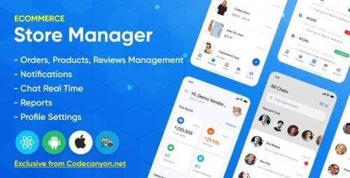 CodeCanyon - Store Manager v1.2.0 - React Native Application for Wordpress Woocomerce - 28455094