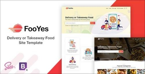 ThemeForest - FooYes v1.0 - Delivery or Takeaway Food Site Template - 29281427