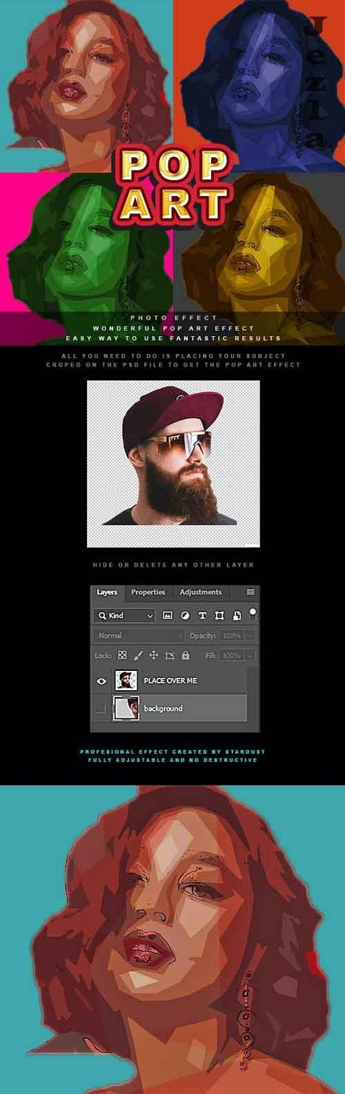 GraphicRiver - Pop Art Photo Effect 28673407