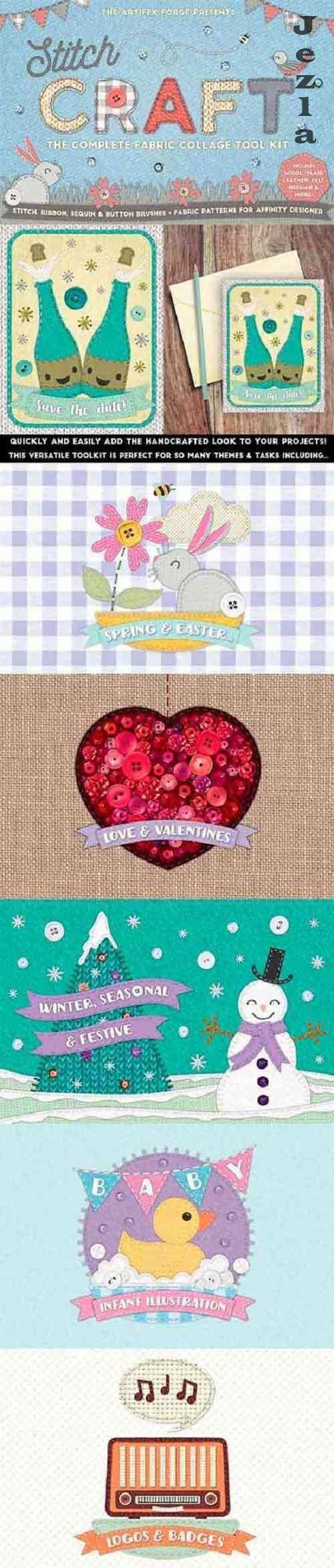 Creativemarket - Stitch Craft - Brushes & Styles 5489909