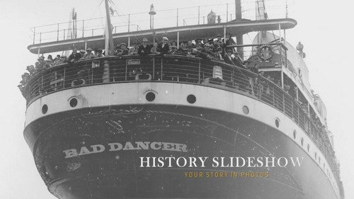 Проект ProShow Producer - History Slideshow