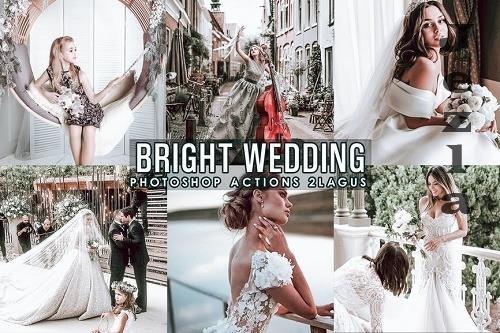 Bright Wedding Photoshop Actions