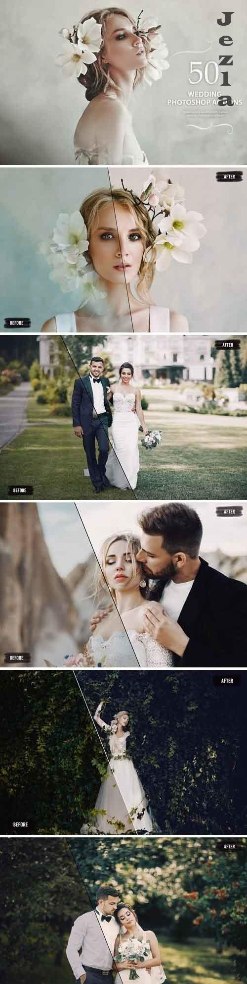 50 Wedding PHSP Actions