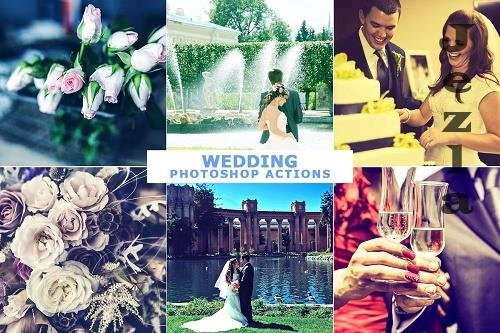 10 Wedding Photoshop Actions - 4689472