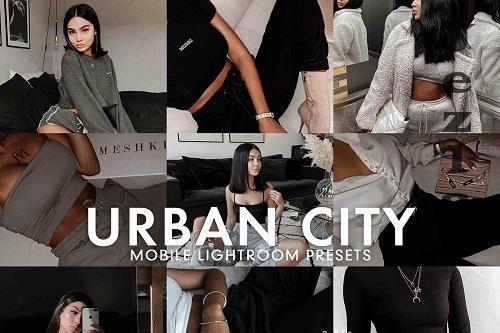 CreativeMarket - 5 Urban City LRM Preset 5277226