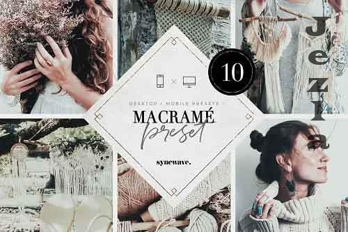 CreativeMarket - Macramé Lightroom Presets Bundle 5251195