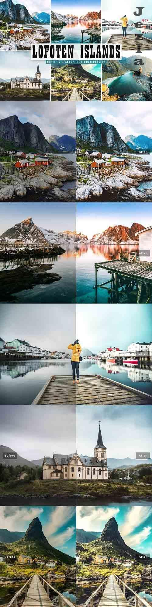 Lofoten Islands Lightroom Presets - 5603809 - Mobile & Desktop