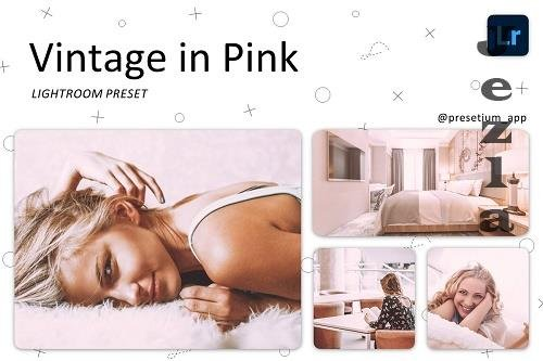 CreativeMarket - Vintage in Pink - Lightroom Presets 5219710