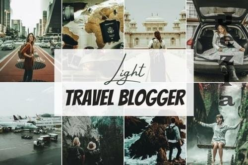 Light - Travel Blogger Mobile Lightroom Preset