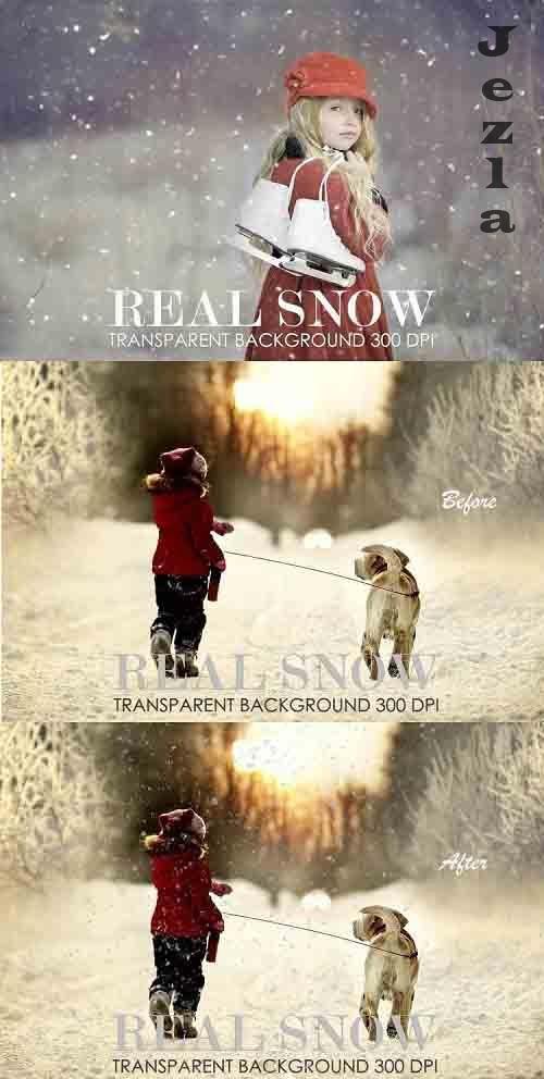 Snow overlay, snow overlay for photoshop - 1039130