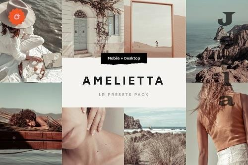 CreativeMarket - Amelietta – 6 Lightroom Presets 5179174