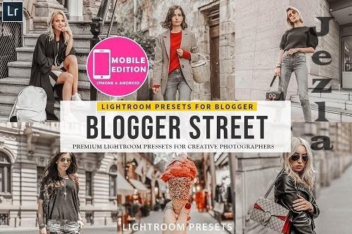 CreativeMarket - Blogger Street Lightroom Presets 3149941