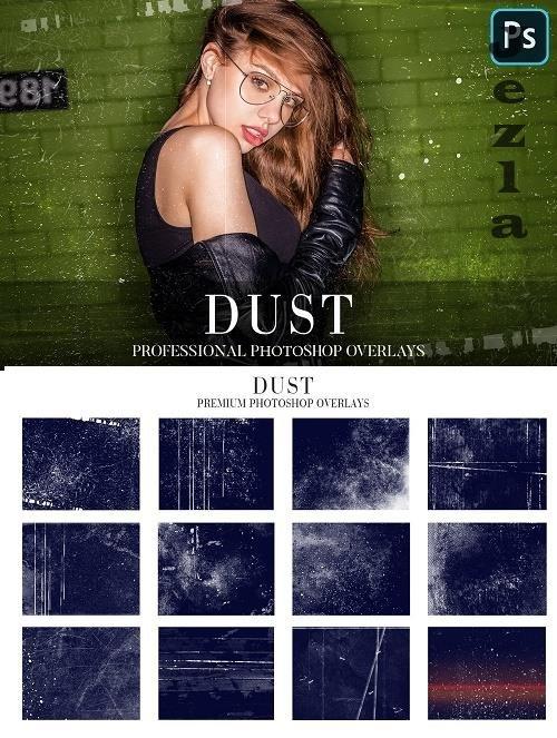 CreativeMarket - Dust Overlays Photoshop 4936374