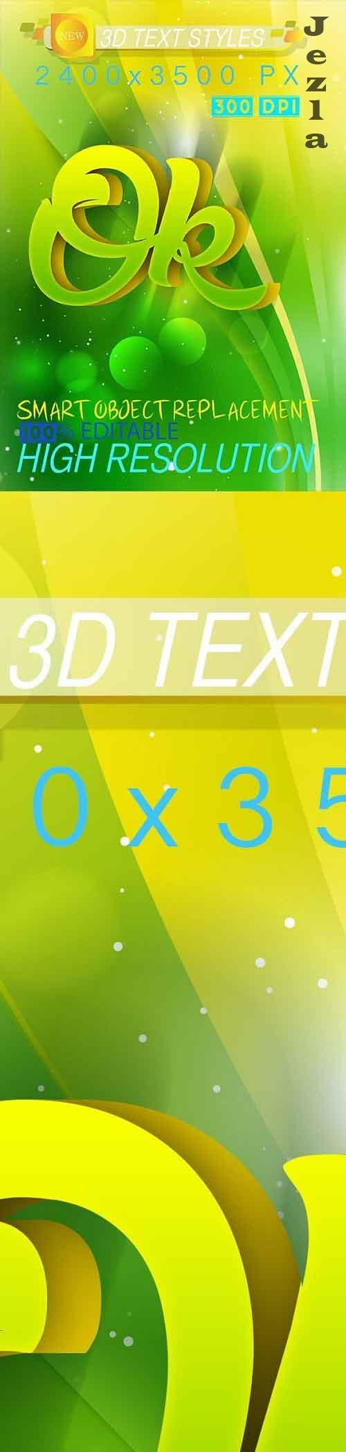 GraphicRiver - 3D Text Effect 16_9_20 28578271