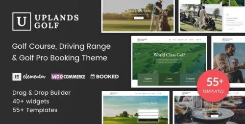ThemeForest - Uplands v1.4.4 - Golf Course WordPress Theme - 22776390