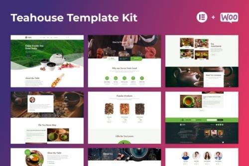 ThemeForest - Tabit v1.0.0 - Teahouse & Tea Store Elementor Template Kit - 29296840
