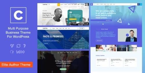 ThemeForest - Capital v2.0 - Multi Purpose Business WordPress Theme - 20376362