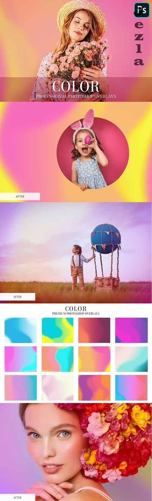 CreativeMarket - Color Overlays Photoshop 4935270
