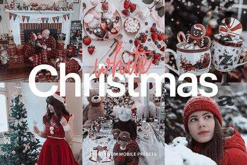 CreativeMarket - Lightroom Preset-White Christmas 4976207