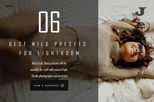 CreativeMarket - 06 best mild presets for Lightroom 4992144