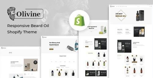 ThemeForest - Olivine v1.0.0 - Responsive Beard Oil Shopify Theme - 29367106