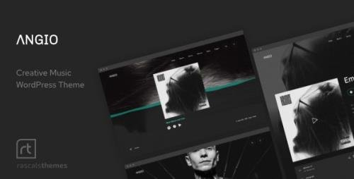 ThemeForest - Angio v1.1.1 - Creative Music Theme - 28112718
