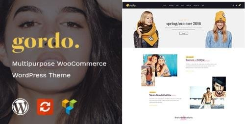 ThemeForest - Gordo v1.0 - Fashion Responsive WooCommerce WordPress Theme (Update: 20 November 20) - 20689072
