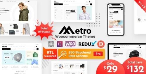 ThemeForest - Metro v1.4.8 - Minimal WooCommerce WordPress Theme - 24204259
