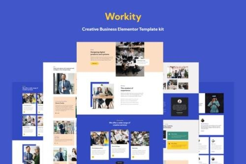 ThemeForest - Workity v1.0.5 - Creative Business Elementor Template kit - 28960338