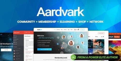 ThemeForest - Aardvark v4.28 - Community, Membership, BuddyPress Theme - 21281062