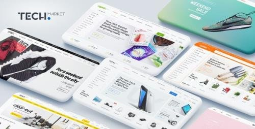 ThemeForest - Techmarket v1.4.8 - Multi-demo & Electronics Store WooCommerce Theme - 20241155