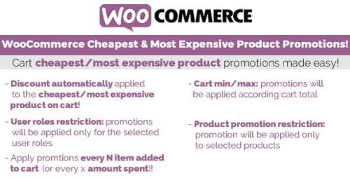 CodeCanyon - WooCommerce Cheapest & Most Expensive Product Promotions! v3.3 - 19275234