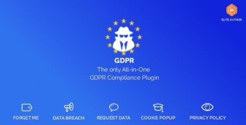 CodeCanyon - WordPress GDPR & CCPA v1.9.9 - 21880726