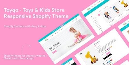 ThemeForest - Toyqo v1.0.0 - Toys & Kids Store Responsive Shopify Theme - 29315169