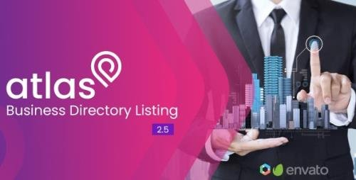 CodeCanyon - Atlas v2.5 - Business Directory Listing - 23830254 - NULLED