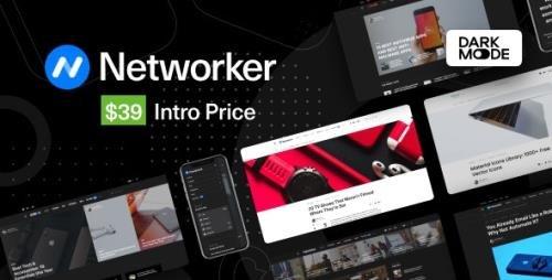 ThemeForest - Networker v1.0.2 - Tech News WordPress Theme with Dark Mode - 28749988 -