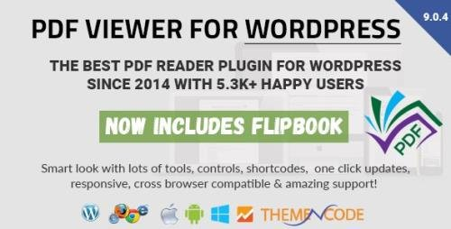 CodeCanyon - PDF viewer for WordPress v9.0.4 - 8182815